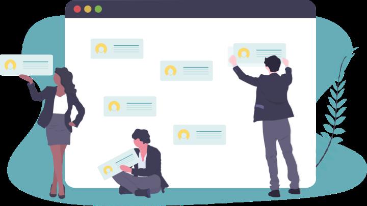 applicativi e strumenti per il lavoro collaborativo e agile, con gestione delle attività e del team secondo le proprie esigenze
