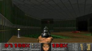 vecchio videogioco, doom, tramite il quale mi sono appassionato di informatica